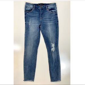 STS Blue Ellie High Rise Ankle Jeans Raw Ankle Hem